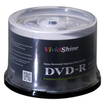VividShine Inkjet Printable DVD-R 50pcs