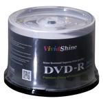 VividShine Inkjet Printable DVD-R 50pcs